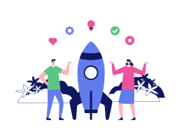 Welcome Screen For Startup Product