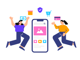 Welcome Screen For E Commerce